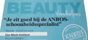 Beautyvoordeelpas Anbos